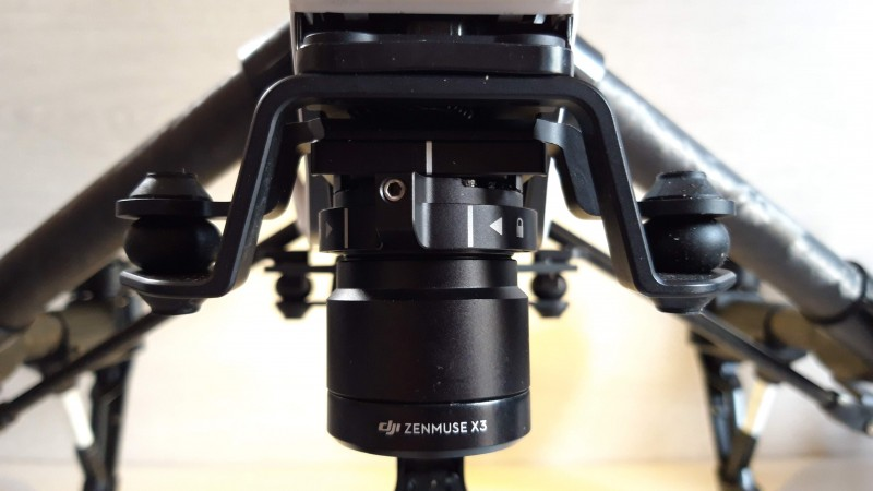 DJI Inspire 1 - T601 V2.0  & Zenmuse X3 Camera with  1 Controller  & 2 Batteries